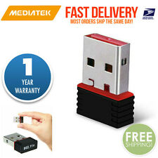 Mini USB 150Mbps Wireless 802.11B/G/N LAN Card WiFi Adapter Year Warranty Nano