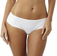 16 XL X Large White Panache 3374 Porcelain Short Brief Knickers