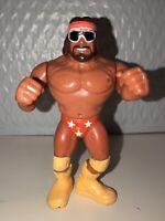 WWF Hasbro Macho Man Randy Savage Series 1 Wrestling Figure 1990 WWE NWO Vtg