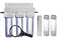 3 Stage Fluidised Bed Filter Aquarium Filtration Phosphate Carbon, Nitrate, etc.