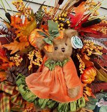 "IMA PUMPKIN Bearington 14"" Bear #179929 New 2007  $34.99 w/tags Oktoberfest Rare"