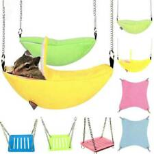 Pets Birds Hamster Rat Hanging Swing Stand Hammock Cage Sleeping Nest Bed Toys