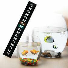 1pc Digital Aquarium Fish Tank Thermometer Temperature Sticker Stick-On N1L2