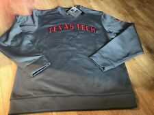 NWT UNDER ARMOUR TEXAS TECH RED RAIDERS STORM FOOTBALL LOOSE SWEATSHIRT Size L