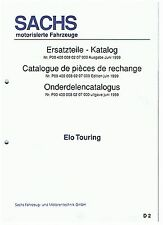 Sachs Ersatzteile - Katalog - Liste Elo-Touring De - F - NL ET: P004000080207000