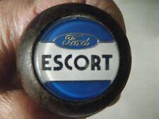 Ford Escort Hardwood Gear Knob Vintage Rare