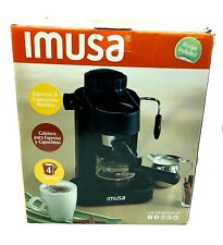 Imusa Gau 18200 Electric Espresso & Cappuccino Maker 4 Cup - Factory Sealed New