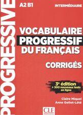 (17).(INTERM.).VOCABULAIRE PROGRESSIVE DU FRANÇAIS CORRIGES