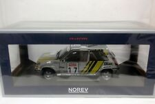 1/18 RENAULT 5 GT TURBO #17 OREILLE RALLY TOUR DE CORSE 1989 NOREV