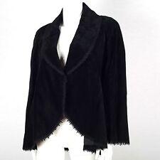 Festliche Hüftlang Damenjacken & -mäntel im Sonstige Jacken-Stil mit Leder