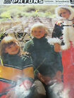 PATONS KNITTING BOOK NO 578,USED,VINTAGE,TOTEM/BLUEBELL FOR KIDS