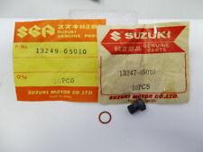 Suzuki T305 T350 T500 GT380 GT550 GT750 Carb Drain Plug & Gasket NOS 13247-05010