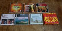 7 x CLASSICAL MUSIC CD ' - BEETHOVEN, HANDEL, BRITTEN, SCHUMANN ETC.