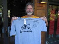 GRATEFUL DEAD TAMALPAIS CHIEFS Bob Weir Hanes/Gildan beefy tee Black tee shirt