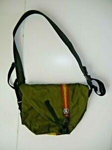 CRUMPLER Olive Green MESSENGER BAG Shoulder Sling School Lap-Top Backpack Bag