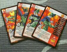 Dragon Ball Z DBZ CCG Tcg Panini Awakening Dragon Rare DR Cell 1-4 MP Set Foil