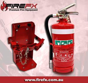 2.5KG ABE Fire Extinguisher & Heavy Duty Extinguisher Bracket