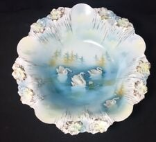 RS Prussia Swan Icicle Bowl Mold # 24