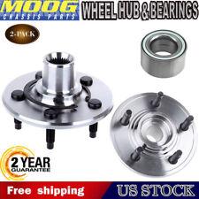 MOOG (2) New Rear Wheel Hub Bearing Assembly for Explorer Aviator Mountaineer