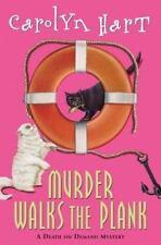 Murder Walks the Plank No. 15 by Carolyn G. Hart (2004, Hardcover)