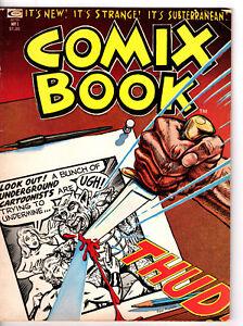 Marvel! Comix Book #1! Marvel Underground Comic Book! Denis Kitchen! Chaykin!
