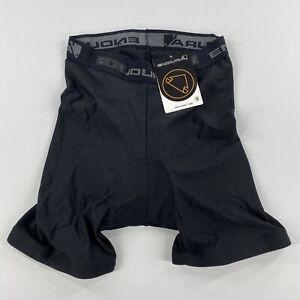 Endura Mens Clickfast Padded Liner Bicycle Shorts Black Size Small