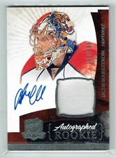 10-11 UD The Cup  Jacob Markstrom  /249  Auto  Patch  Rookie