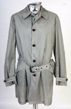 John Varvatos Nylon Raincoat Mac Jacket Green / Grey Medium EU48 RRP £995 $1295