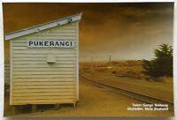Taieri Gorge Railway Dunedin New Zealand Pukerangi Postcard (P314)