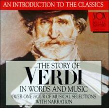 Story Of Verdi In Words And Music by Giuseppe Verdi, Marko Munih, Milan Sachs,