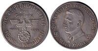 №9 Exonumia Token Adolf Hitler. third Reich. Germany.