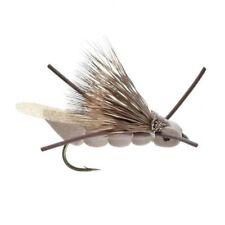 (2) Charlie Boy Hopper Tan #10 Trout Terrestrial Fly by Umpqua New Free Shipping
