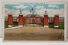 Tupper Lake NY U.S. Veterans Hospital Postcard C13