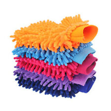Super Mitt Microfiber Car Wash Washing Cleaning Glove Dual Sided  Chenille Glove