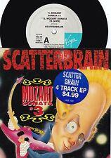 Scatterbrain ORIG OZ EP Mozart sonata #3 EX '90 Funk Metal Virgin VOZ100