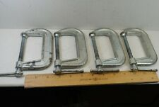 Pony No.1430 C-Clamps 4 Pieces