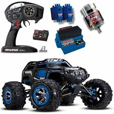 Traxxas 56076-4 1/10 4WD Summit 4WD Monster Truck BLUE w/ TQi Radio / EVX-2