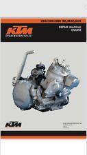 KTM 250 300 380 SX EXC MXC 1998-2003 Engine Repair / Workshop Manual PDF Format
