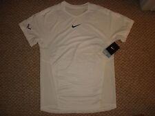 NWT Nike Nadal Premier Rafa Tennis Crew Shirt 546473-100 Federer NEW Large
