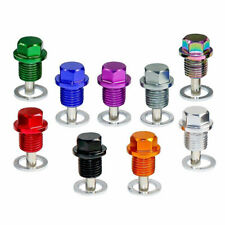 1pc M14*1.5 Engine Magnetic Oil Drain Plug Screw Nut Bolt Sump Nut Universal