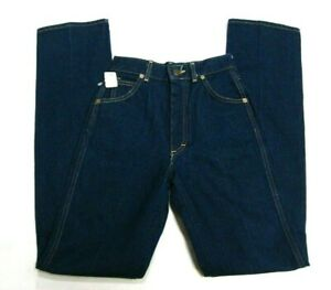Lee 550-0147 Young JR. Straight Leg Cotton Blue Jeans Size 8 (24/32) NWT $25