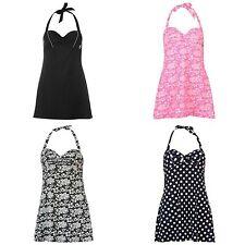 Damen-Badeanzüge mit Neckholder aus Nylon