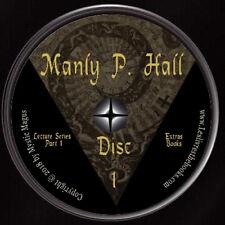 Manly P Hall Set Lot, Lectures Albums & Alchemical Manuscripts DVDs+ Books & MP4