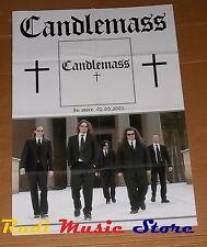 POSTER metal PROMO CANDLEMASS - CANDLEMASS 84 X 59,5 cm cd dvd vhs lp live mc
