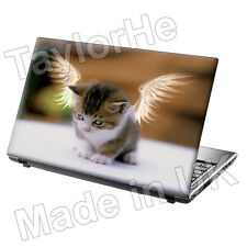 Laptop piel cubierta Notebook pegatina Angel Cat