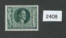 Mint postage stamp / 1943 Birthday 6PF + 14PF / Adolph Hitler / MNH Third Reich