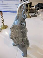 Vintage 1986 Large Gobel Elephant with Trunk Up