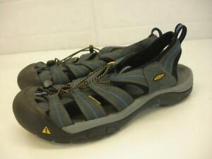 Men's sz 14 M Keen Newport H2 Waterproof Sandals Sport Slip-On Hiking Nylon Gray