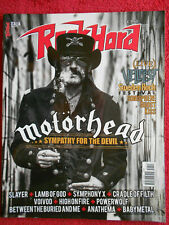 Rivista ROCKHARD 31/2015 Motorhead Lamb Of God Symphony X Sun King E Force No cd