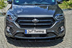 Sonderaktion Spoilerschwert Frontspoiler ABS für Ford Kuga DM2 Facelift mit ABE